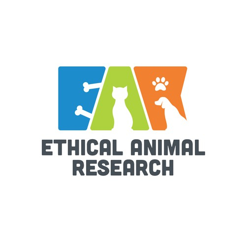Create a visual identity for a research organization that helps treat animals and save human lives