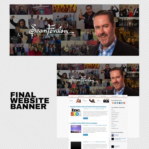 Collage Website Banner
