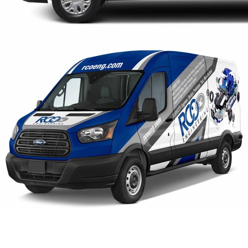 Ford Transit design for RCO Engineering