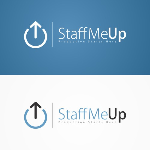 New Logo Design for Staff Me Up