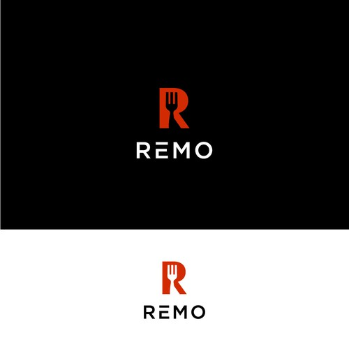 Logo for an app-based interactive menu for restaurants