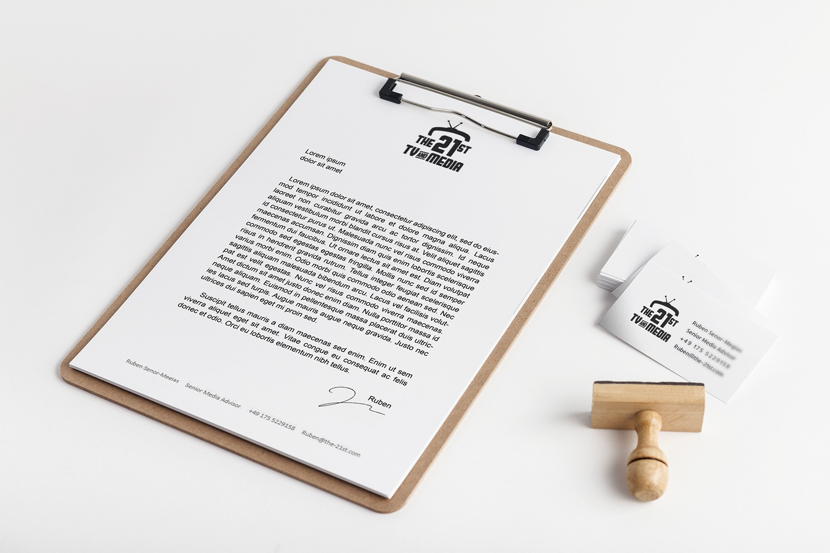 Business Cards and Word-Templates