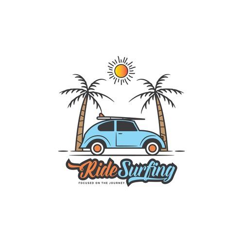 Logo Concept for RideSurfing