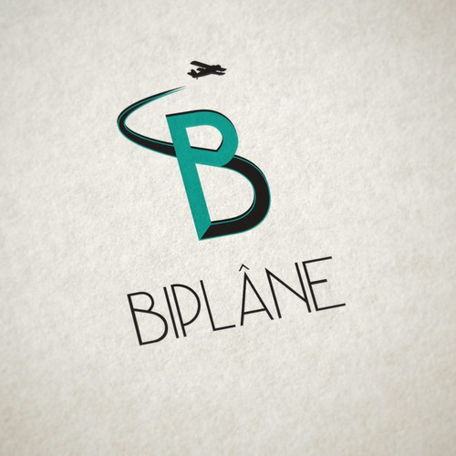Create a supercool Biplane logo for a new adventure travel and global volunteering network!