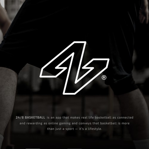 24|8 Basketball App Logo