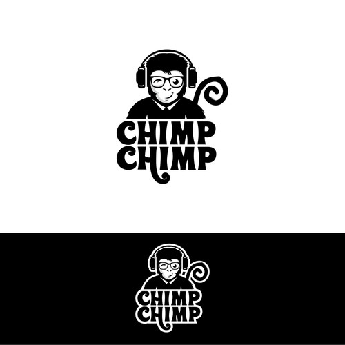Monkey Logo For Chimp-Chimp