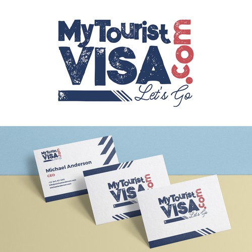 Logo desing for a travel agency