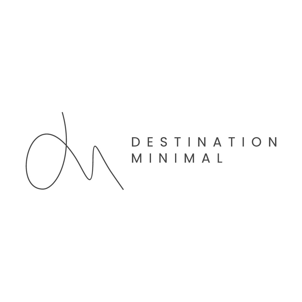 Design a minimalistic logo for a new fashion & travel brand for women