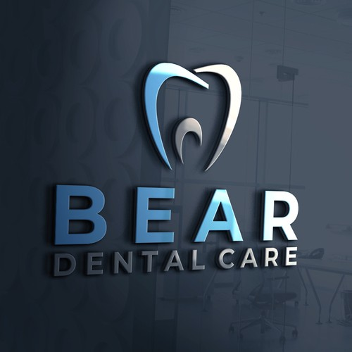 Bold Logo For Dental Care Company