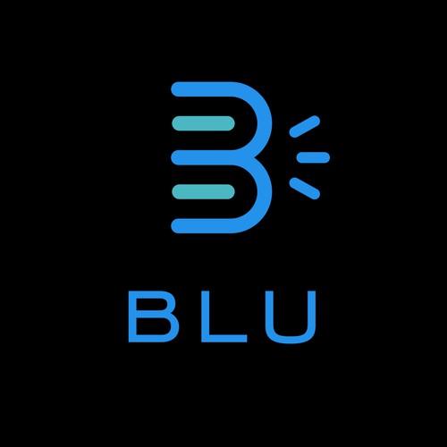 BLU Logo Design