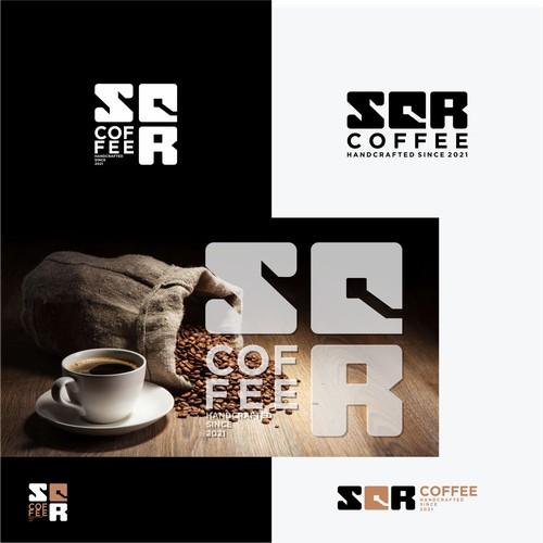 SQR Coffee logo Concept