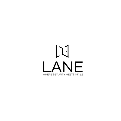 Geometric Logo Concept for LANE