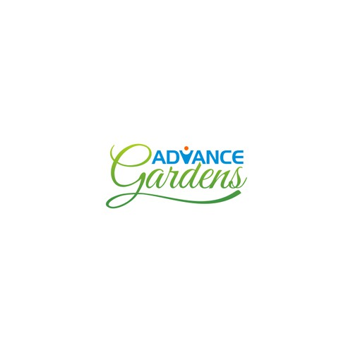 NEW logo for Advance Gardens