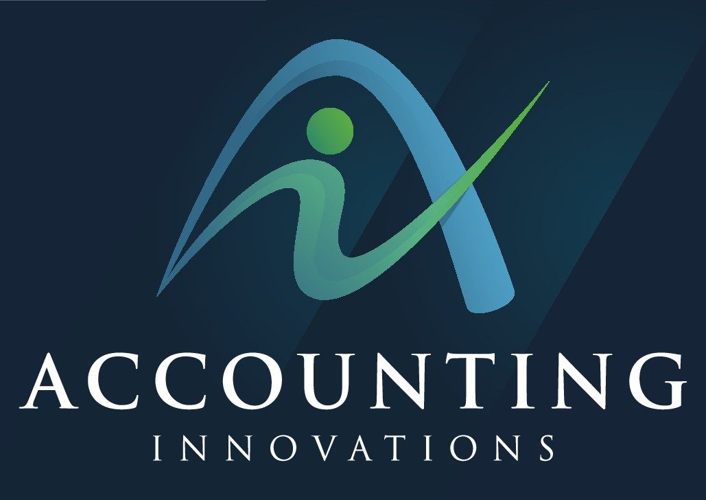 Create an innovative and creative business logo for Accounting Innovations.