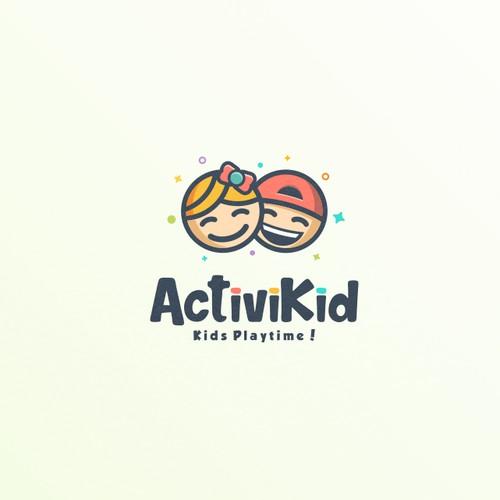Fun logo for ActiviKid