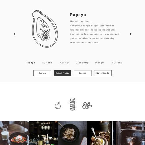Custom Illustrations for website