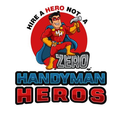 Handyman Logo Mascot