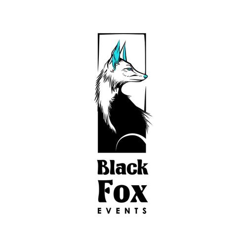 Black Fox Events logo proposal