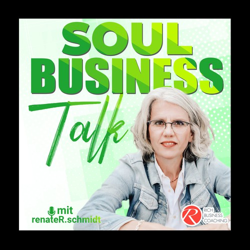 spiritual business podcast cover needed