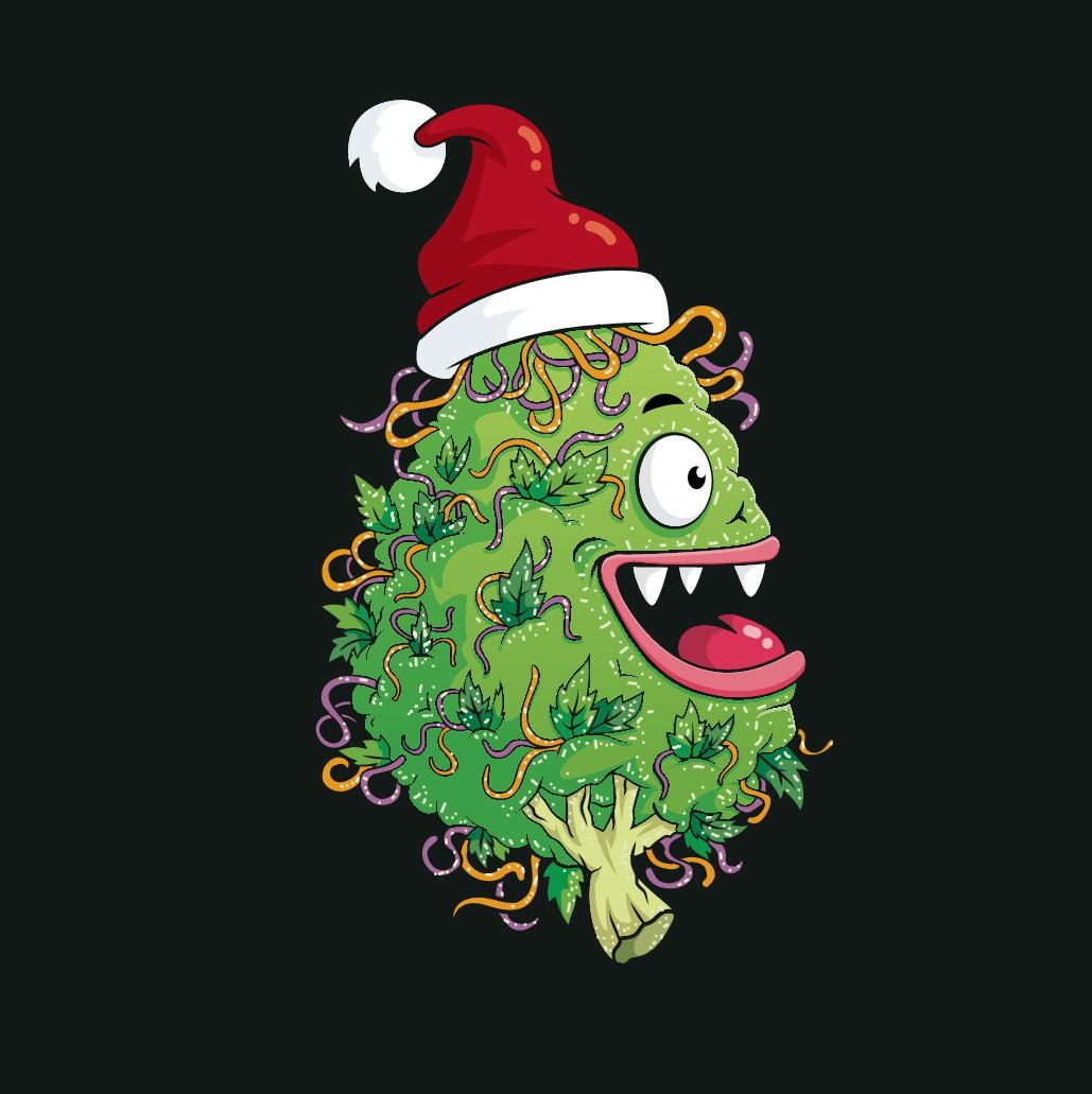 Christmas Nugget Character