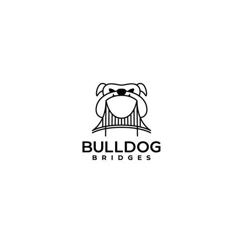 logo concept for Bulldog Bridges