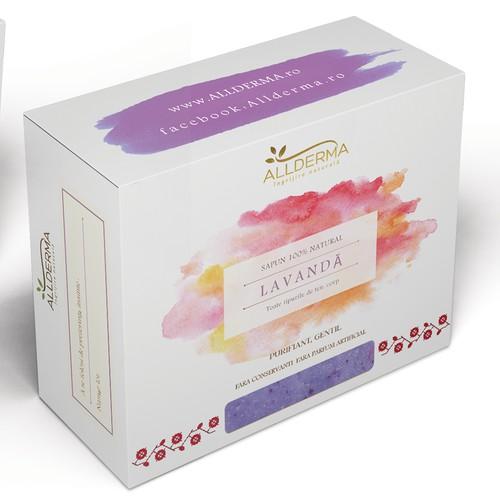 Packaging design for handmade soaps