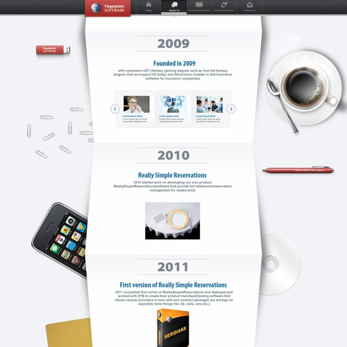 Fingerprints software