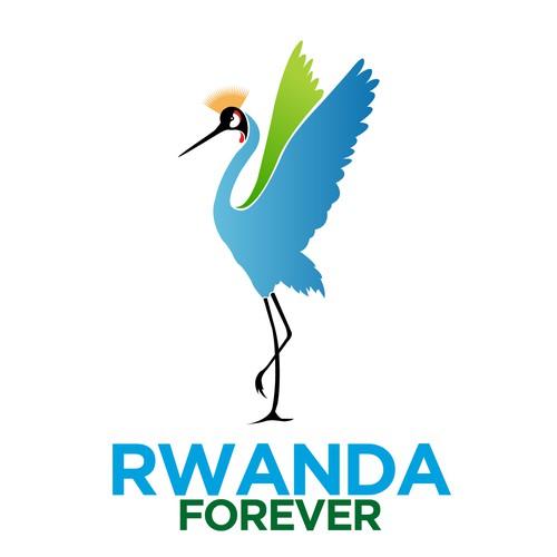 Gradient logo for Rwanda