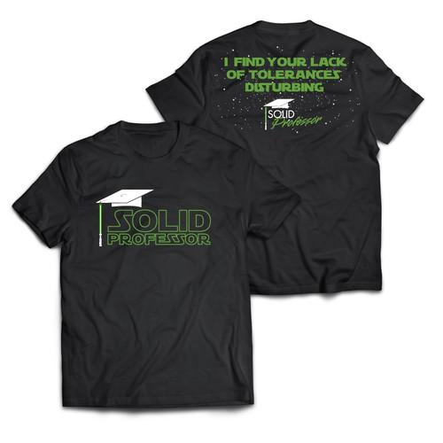 shirt for a trade show