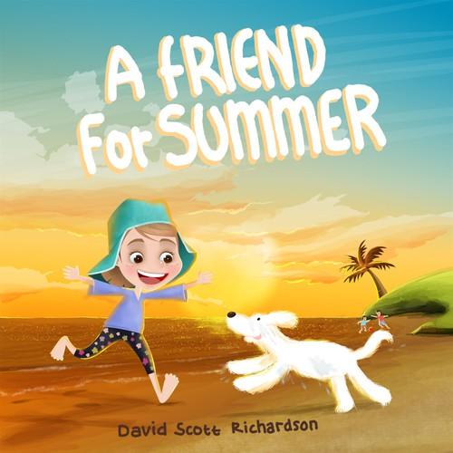 Children book cover for Richardson