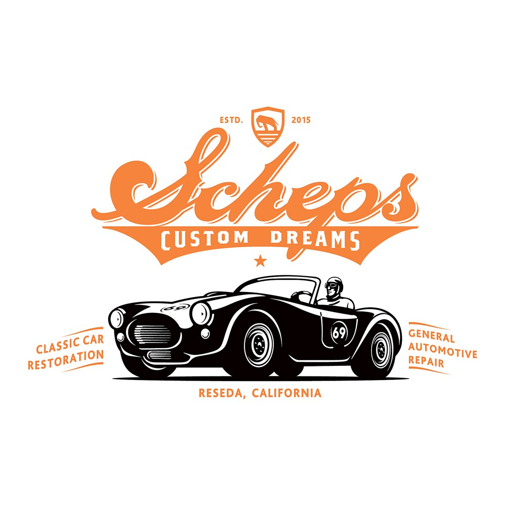 Classic Car Restoration company looking for a somewhat vintage logo
