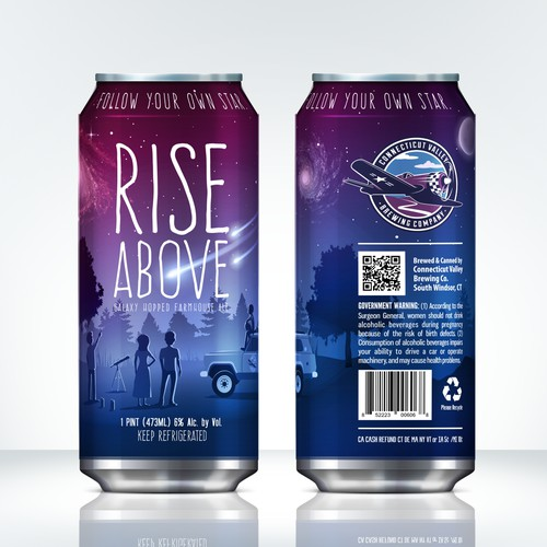 Rise Above - Beer can