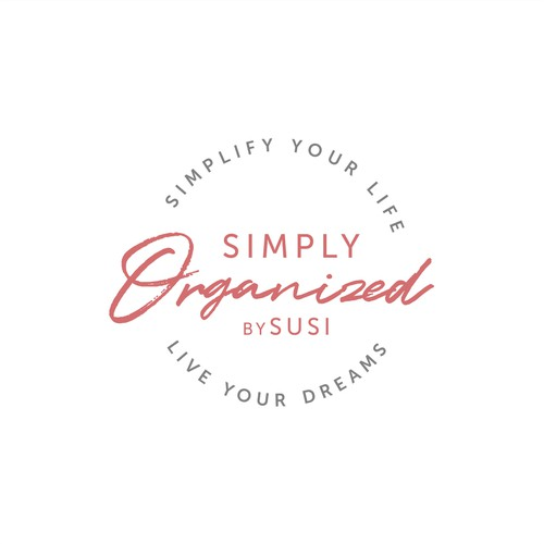 Logo concept for Simply Organized by Susi