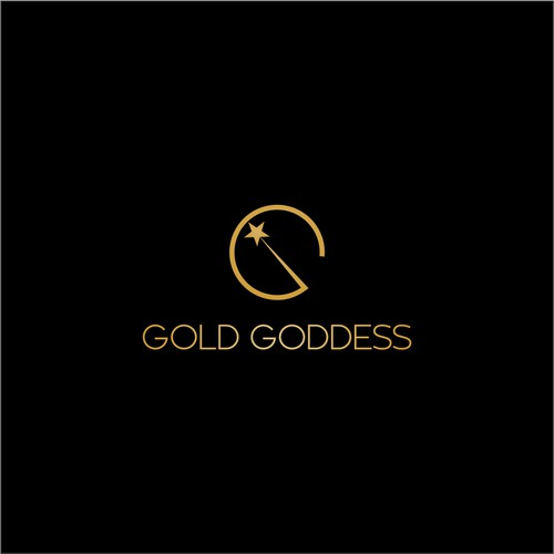 Minimalist Logo Idea for Gold Goddess