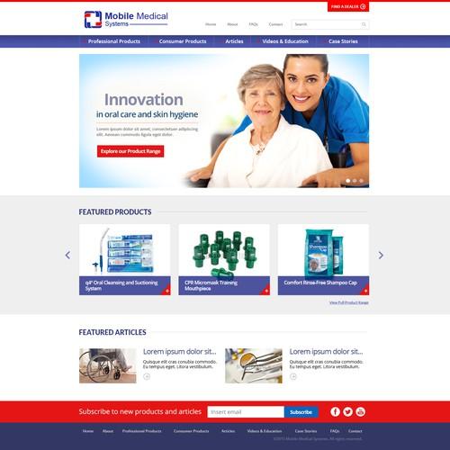 Medical Supplier Website
