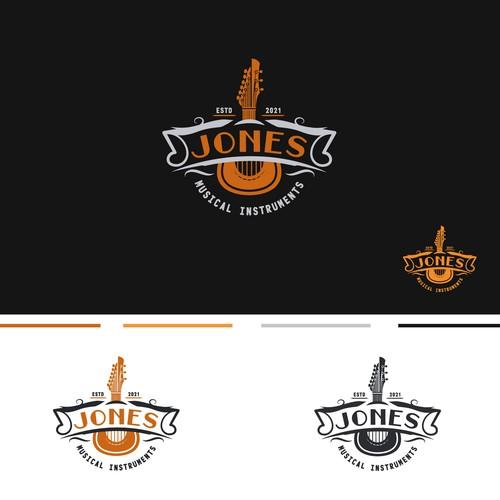 Logotype Jones