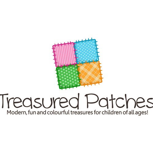 Treasured Patches needs a logo!