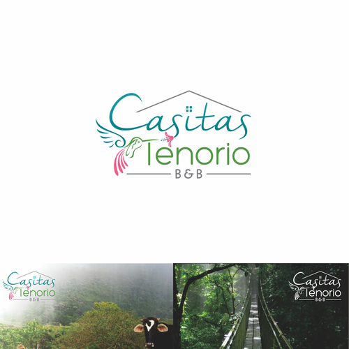 Logo needed for an established Bed and Breakfast in tropical CostaRica!
