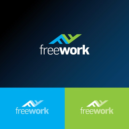 "Logo Concept for ""Freework"""