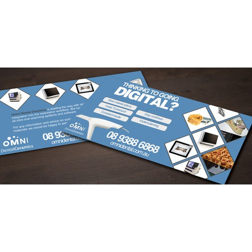 Digital dentistry needs the perfect flyer design