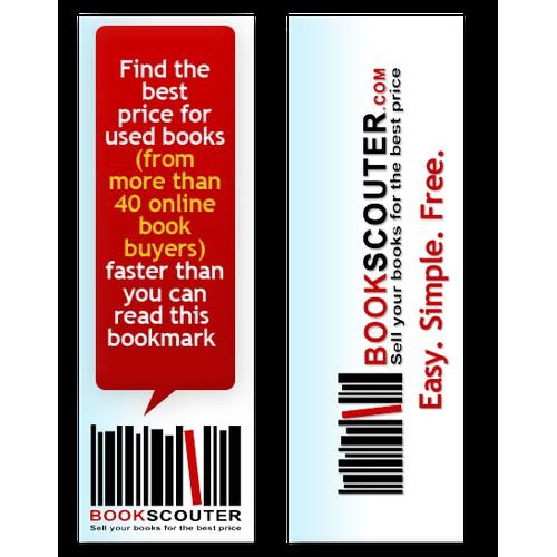 BookScouter.com Needs a Bookmark Designed