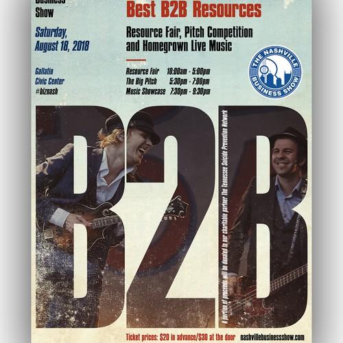 B2B poster