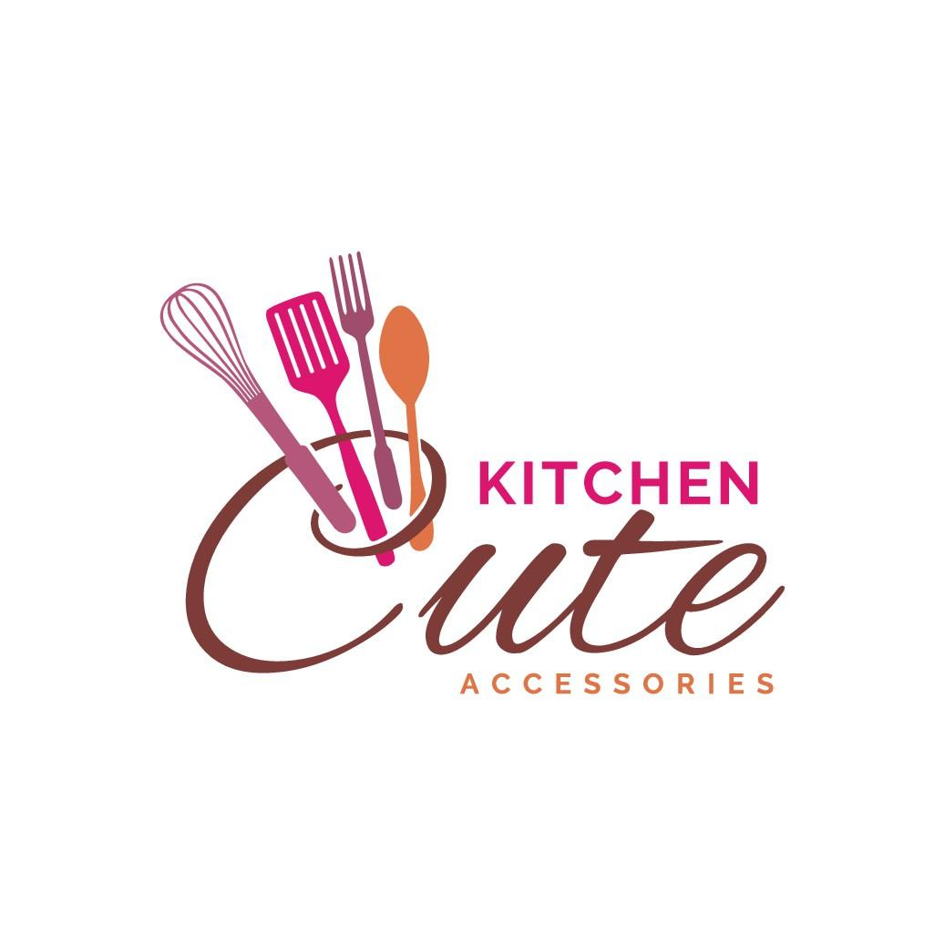 Kitchen Cute - Logo design for start up online retail store.