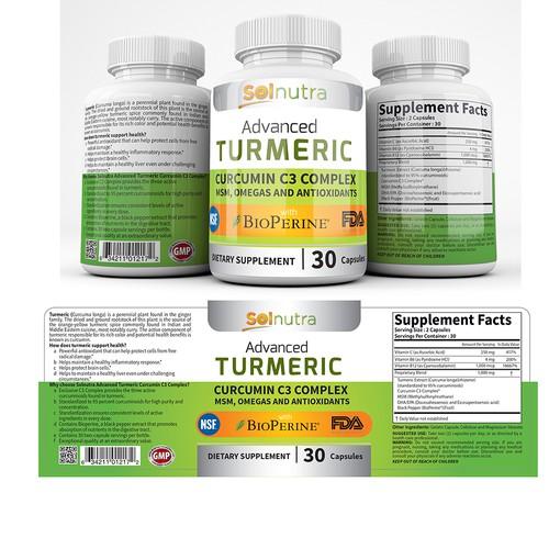 Supplements Pill Label
