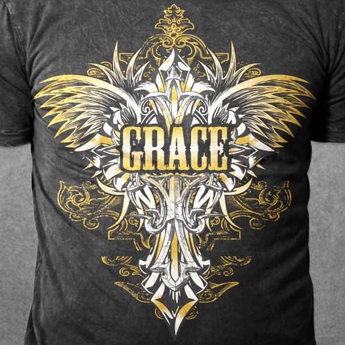Christian Shirt - Grace. The Grace of God.