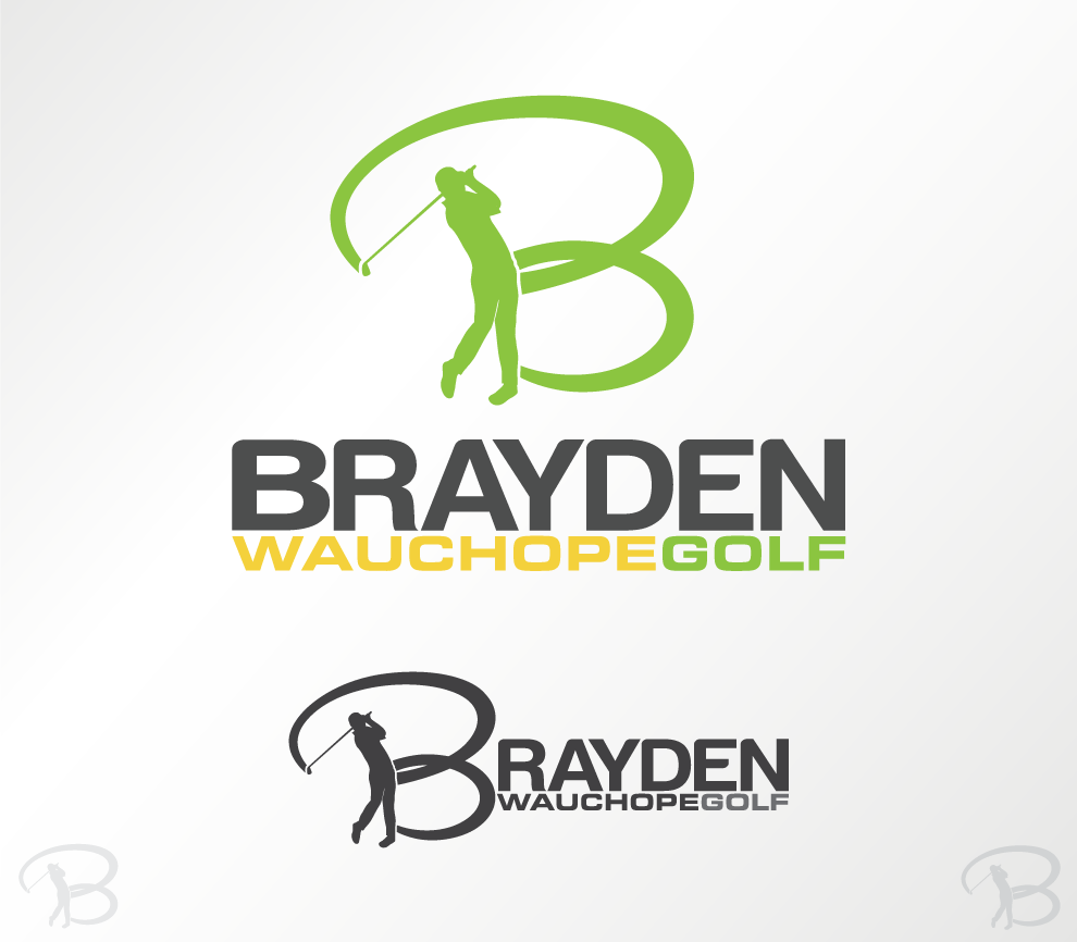 Create the next logo for Brayden Wauchope Golf