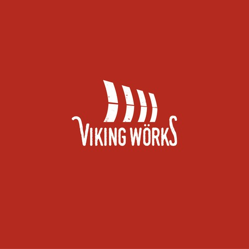 Viking themed logo for video production company