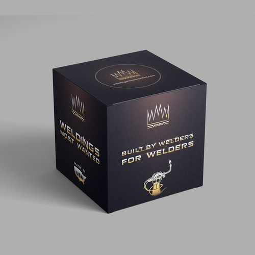 Box design for welding equipment manufacturers.