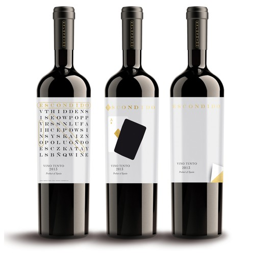 Create a Spanish Wine Label