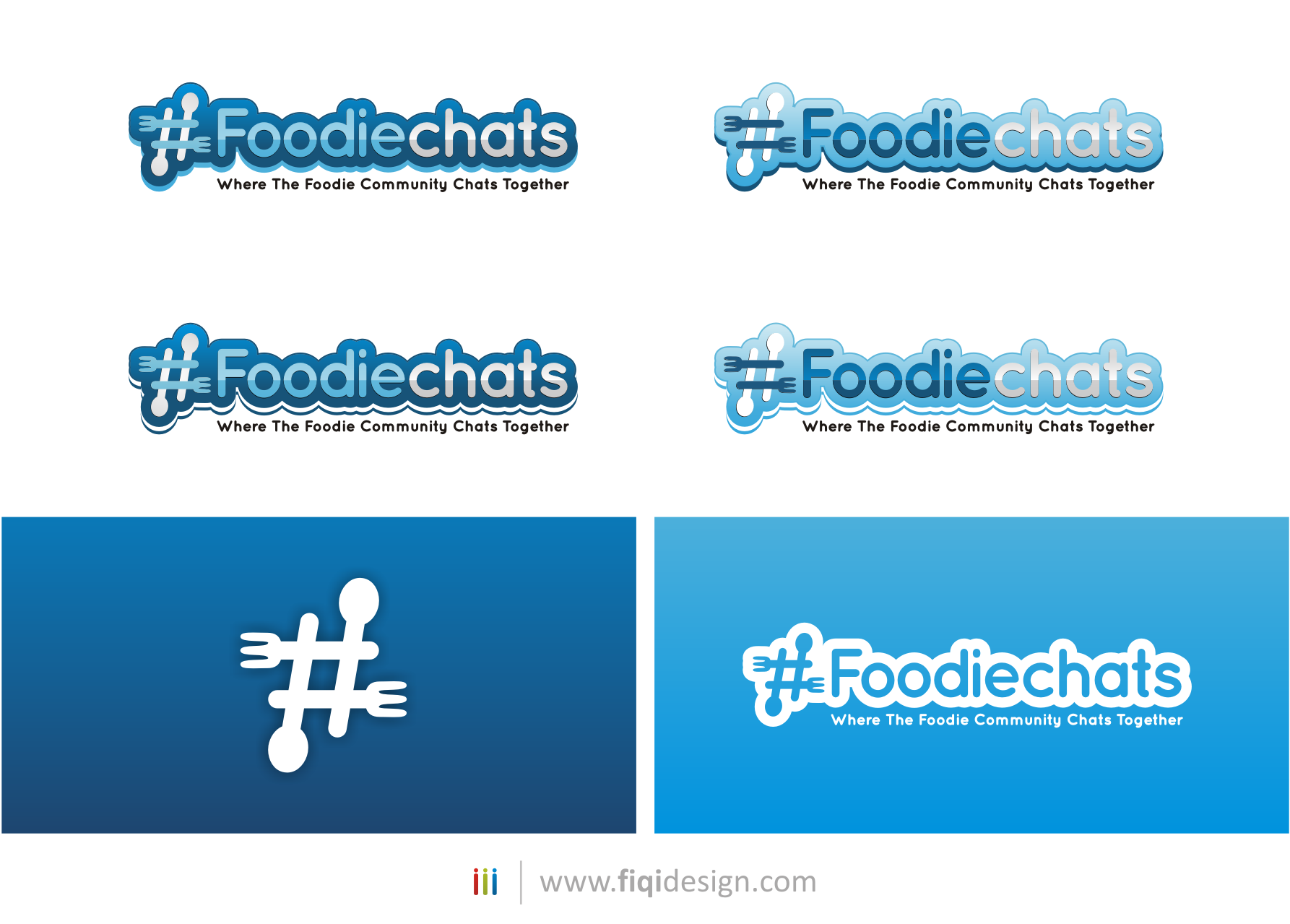 New logo wanted for Foodiechats